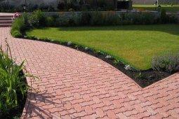 Тротуарная плитка, как элемент декора