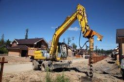 Бурение широко применяется в строительстве