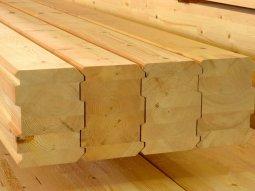 Клееный брус – перспективный современный пиломатериал для строительства дом ...