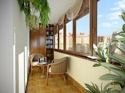 Как можно обустроить квадратные метры лоджии или балкона
