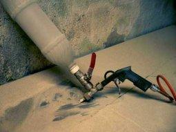 Чем хороши пескоструйные машины при фасадных работах?