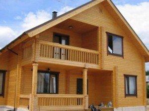 Особенности строительства домов из клееного бруса