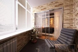 Отделка балкона: виды материалов
