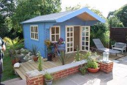 Виды и особенности технологий строительства садового домика