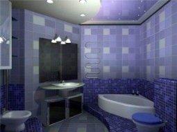 Виды материалов для отделки стен в ванной комнате