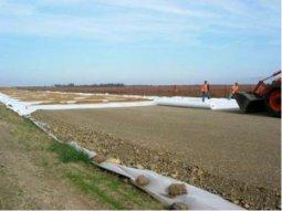 Применения геотекстиля в строительстве