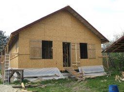 Особенности строительства каркасно-щитового дома