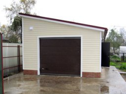 Советы по строительству гаража в частном доме