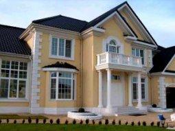 Особенности фасада для коттеджей