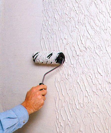 Как сделать рисунок на стене акриловой краской7